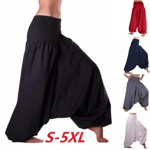 Women Pants, harem, Fashion, Yoga