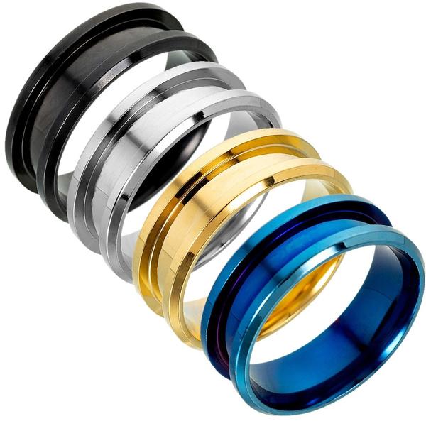 8MM, diyjewelry, Jewelry, metalring