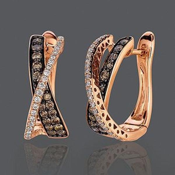 Hoop Earring, leopardearring, gold, women earrings