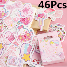 Kawaii, cute, diarysticker, diaryscrapbooking