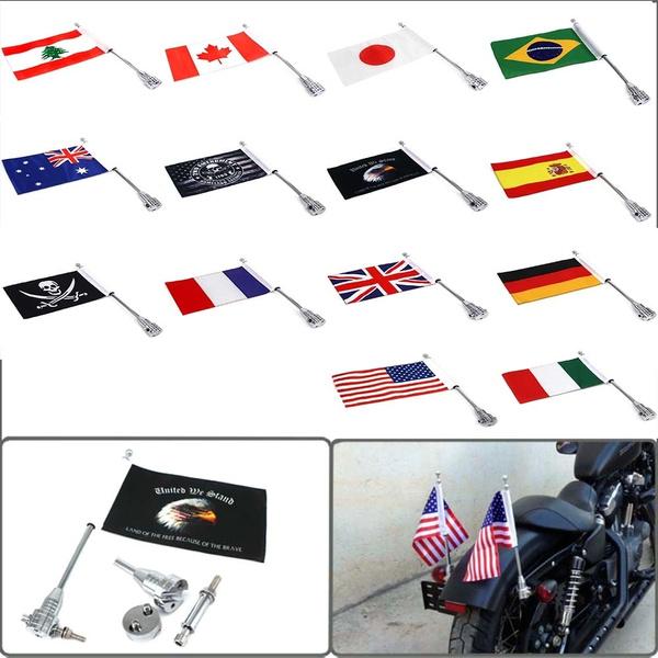 King, motorcycleflag, motorcycleflagwithpole, forharleysportsterxl8831200