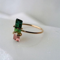 pink, yellow gold, 18k gold, Jewelry