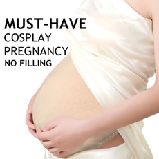 Cosplay, pregnant, Silicone, Bags