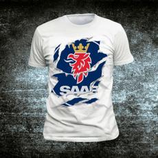 Mens T Shirt, Fashion, Cotton T Shirt, saabshirt