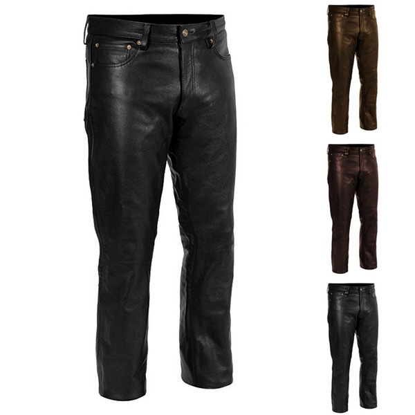 trousers, pants, leather, Men