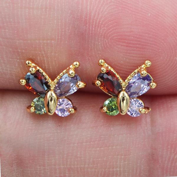 butterfly, rainbow, topazjewelry, Jewelry