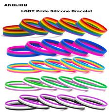 rainbow, pridebraceletsforwomen, gayjewelry, Love