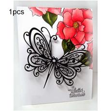 butterfly, stencil, Scrapbooking, scrapbookingalbum