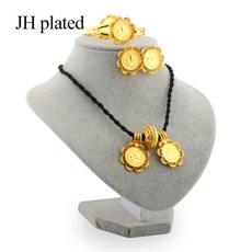 24kgoldplatedjewelryset, Fashion, gold, bodydecoration
