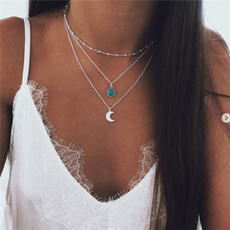 Turquoise, Fashion, Jewelry, bohemiannecklace