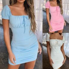 Mini, dressesforwomen, Sleeve, sundress