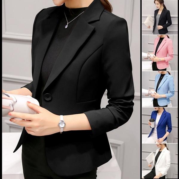 Fashion, Office, Coat, Slim Fit