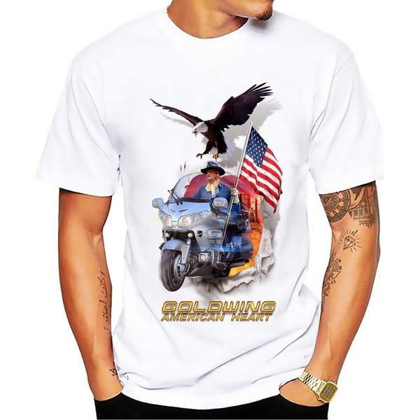 Heart, goldwingamericanheart, Plus Size, Shirt