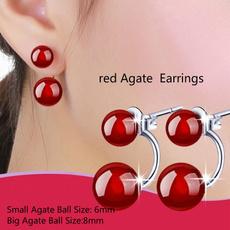 Sterling, Jewelry, Stud Earring, silverplatedearring