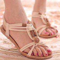 Summer, Flip Flops, Sandals, flatsandal