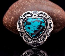 saddleconcho, Turquoise, Fashion, Heart