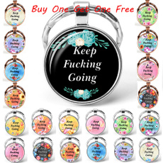 keepfuckinggoingkeychain, gift for him, Gifts, Get