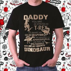 Fashion, Shirt, giftsforfather, Dinosaur