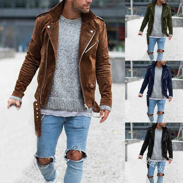 Casual Jackets, menzipperjacket, Jacket, Sleeve