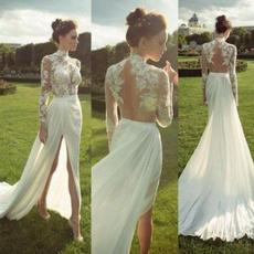 Summer, long skirt, summer dress, Deep V-neck Dress