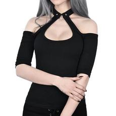 blouse, Goth, Fashion, Halter