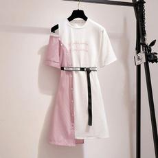 faketwopiece, Shirt, Dress, Women's Fashion