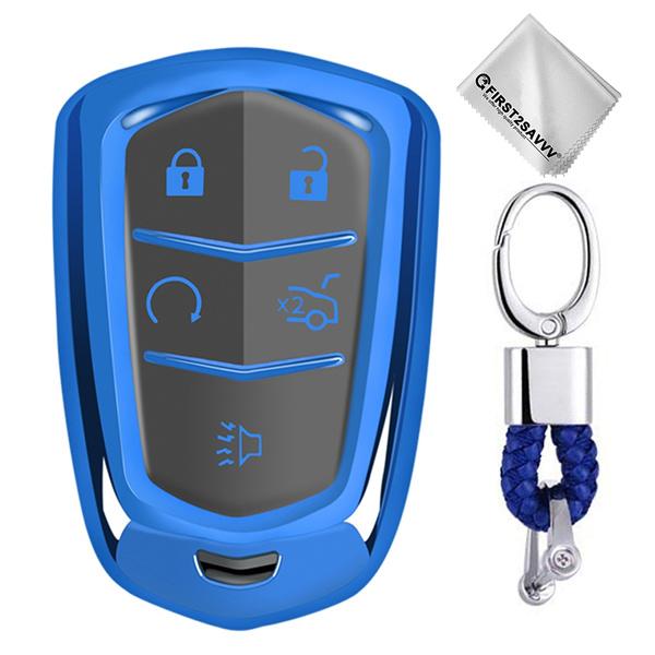 Blues, keyfobcoverforcadillacxt, Remote, keyfobcoverforcadillacatsl