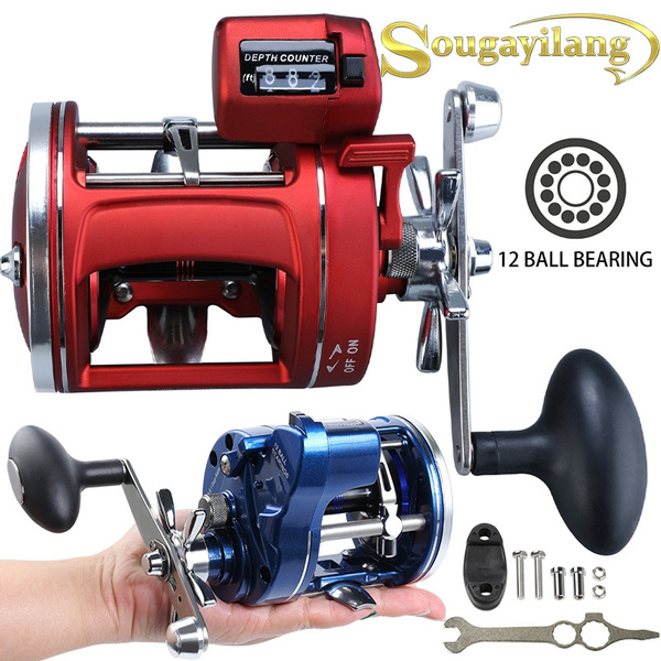 spinningfishingreel, trollingfishingreel, Electric, sportsampoutdoor