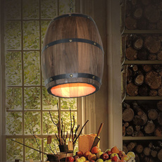 cafebarlighting, winebarrellight, realwoodlight, Home Decor