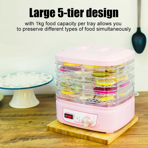 250W 5-Tier Electric Dried Flowers Food Meat Vegetables Dryer Dehydrator  !