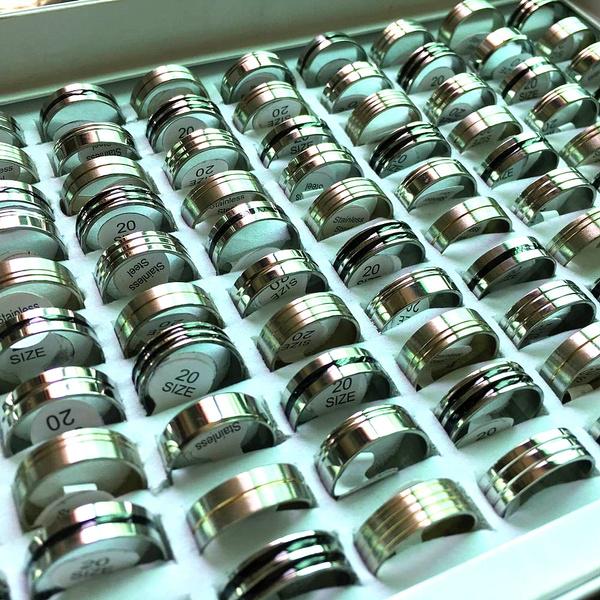 Steel, Stainless Steel, Women Ring, Classics