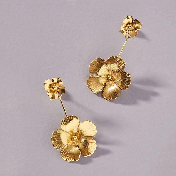 Studs-Vintage Flowers