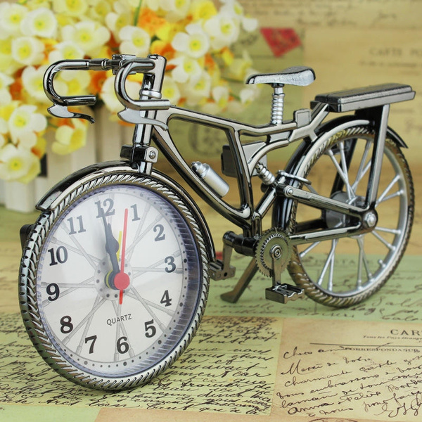 Home & Kitchen, creativeclock, Bicycle, Home Decor