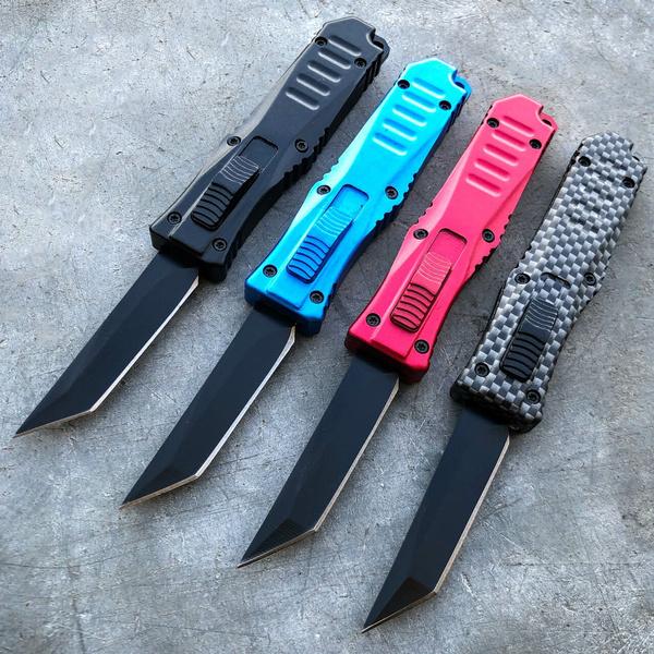 miniotfknife, pocketknife, otfknife, Aluminum