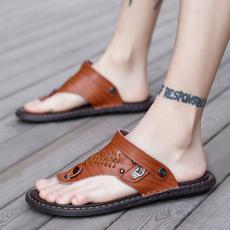 beach shoes, Sandals, genuineleathersandal, fashionsandal
