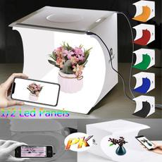 Box, portablestudio, photolight, led