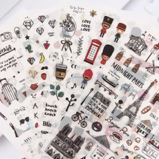 Kawaii, cute, Scrapbooking, stickerlabel
