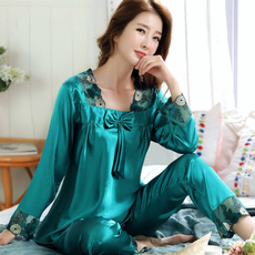 pajamaset, Moda, sexy pajamas for womens, silksleepwearforwomen