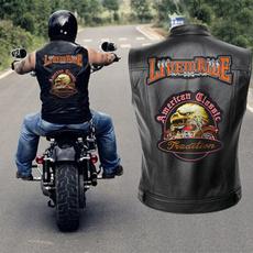 motorcyclejacket, Vest, leathervestformen, motorcyclevest