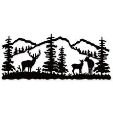 Mountain, stencil, Scrapbooking, cuttingdie