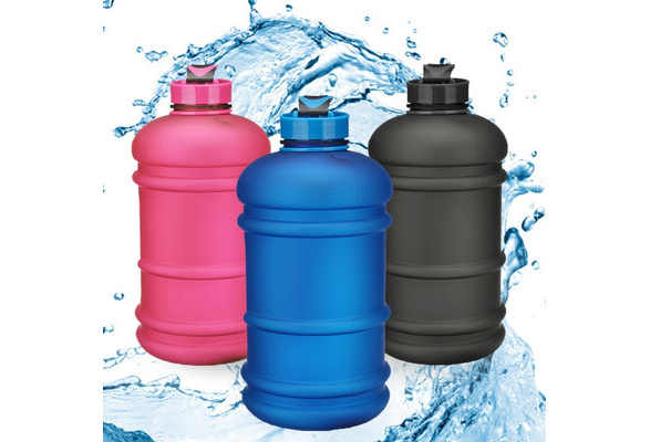 HN Cg/_ 800ml Sports Big Drink Large Water Bottle Cap Kettle BPA Free Sport Gym