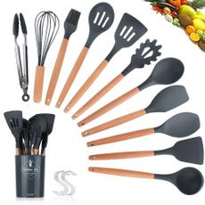 Kitchen & Dining, graycookingshovel, Silicone, fashioncookingspoon