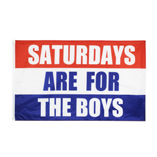 saturday, Brass, Polyester, malefraternityflag