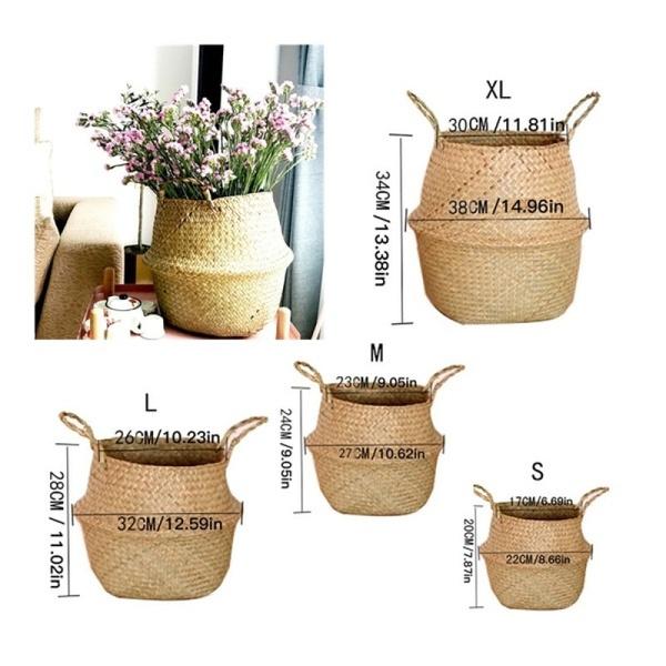 laundrybasket, Foldable, Plants, Flowers