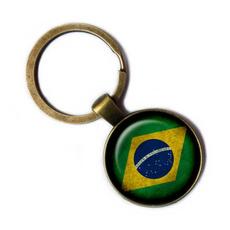 Brazil, Key Chain, Jewelry, Chain
