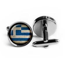 Jewelry, Cuff Links, Glass, greece