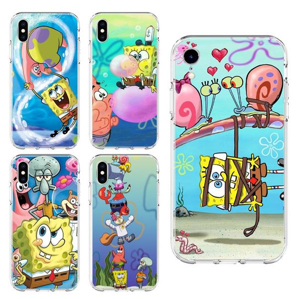 huaweipsmart2019case, case, Iphone 4, Sponge Bob