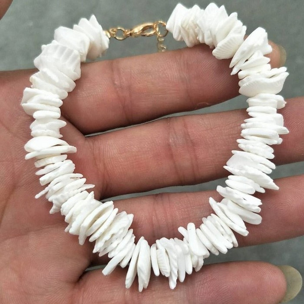 Shell bracelet Make a wish bracelet Wish bracelet Cowrie shell bracelet