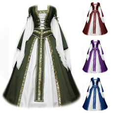 party, Plus Size, Cosplay, Vintage Dresses