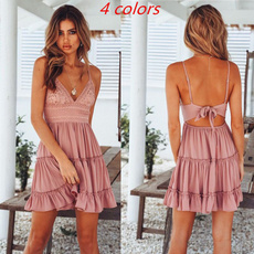 Summer, Mini, Dress, vestidosdeverano